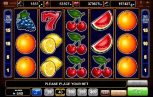 Slot Machine20 Super HotGratis Online