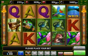 Giochi Slot Amazing Amazonia Online Gratis