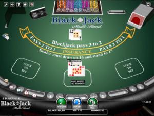 BlackJack MultihandGiochi Slot Machine Online Gratis