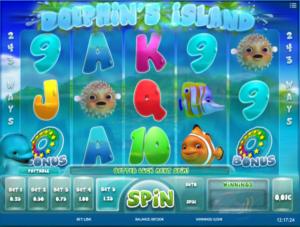 Slot MachineDolphins IslandGratis Online
