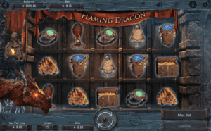 Flaming Dragon Slot Machine Online Gratis