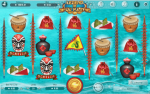 Slot Machine Legend of Qu Yuan Gratis Online
