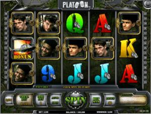 Platoon Slot Machine Online Gratis