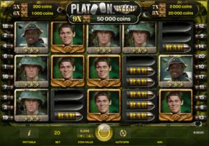Giochi SlotPlatoon WildOnline Gratis