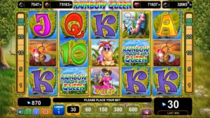 Slot MachineRainbow QueenGratis Online