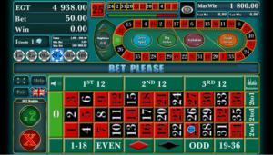 Giochi SlotRoulette EGTOnline Gratis