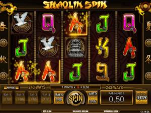 Slot MachineShaolin SpinGratis Online