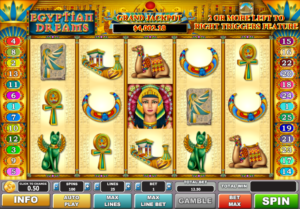 Slot Machine Egyptian Dreams Gratis Online