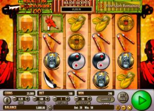 Slot MachineShaolin Fortunes 100Gratis Online