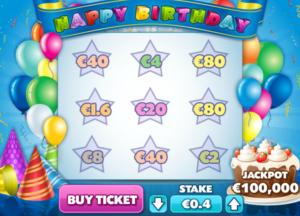 Happy BirthdaySlot Machine Online Gratis