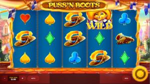 Giochi SlotPuss and BootsOnline Gratis