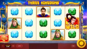 Slot Machine Three Kingdoms RT Gratis Online