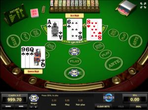 Three Card Poker TomHornGiochi Slot Machine Online Gratis