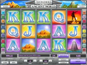 Slot MachineWonders of the AWGratis Online