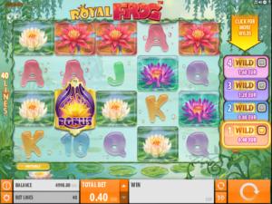 Giochi Slot Royal Frog Online Gratis