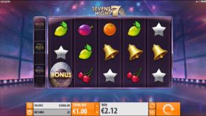Slot Machine Sevens High Gratis Online