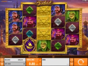 Giochi Slot Sinbad QuickSpin Online Gratis