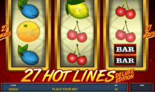 Giochi Slot27 Hot Lines DeluxeOnline Gratis