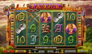 Slot Machine5 KnightsGratis Online