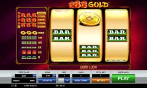 888 GoldSlot Machine Online Gratis