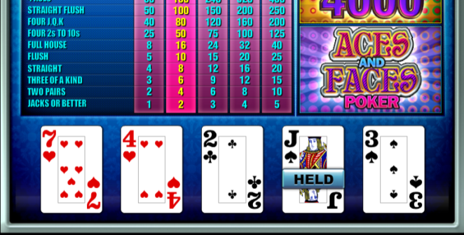 Aces and Faces TomHorn Slot Machine Online Gratis