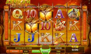 Slot MachineAfrican SunsetGratis Online