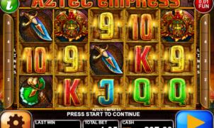 Slot Machine Aztec Empress Gratis Online