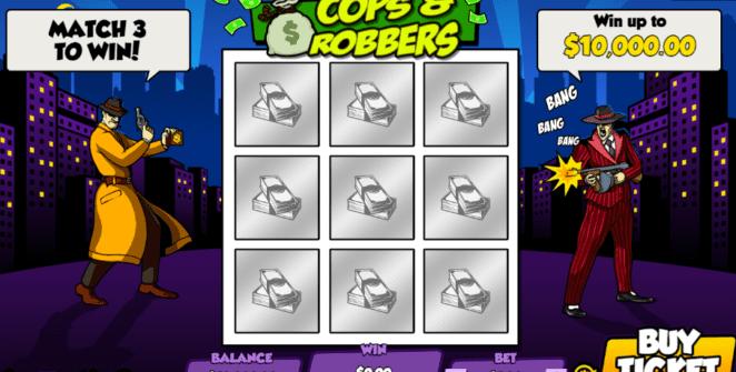 Giochi SlotCops N RobbersOnline Gratis