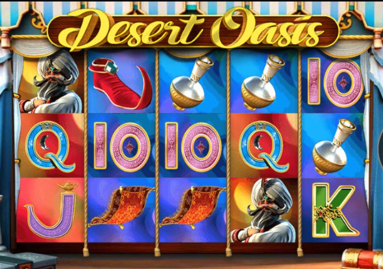 Desert Oasis Slot Machine