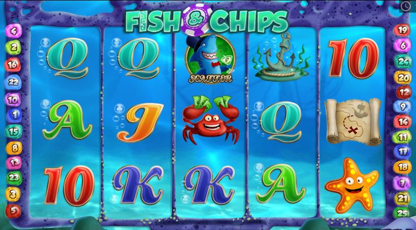 Fish and Chips Slot Machine