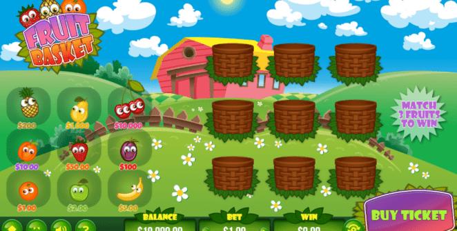 Slot MachineFruit BasketGratis Online