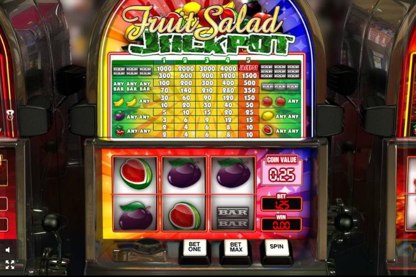 Fruit Salad Jackpot Slot Machine