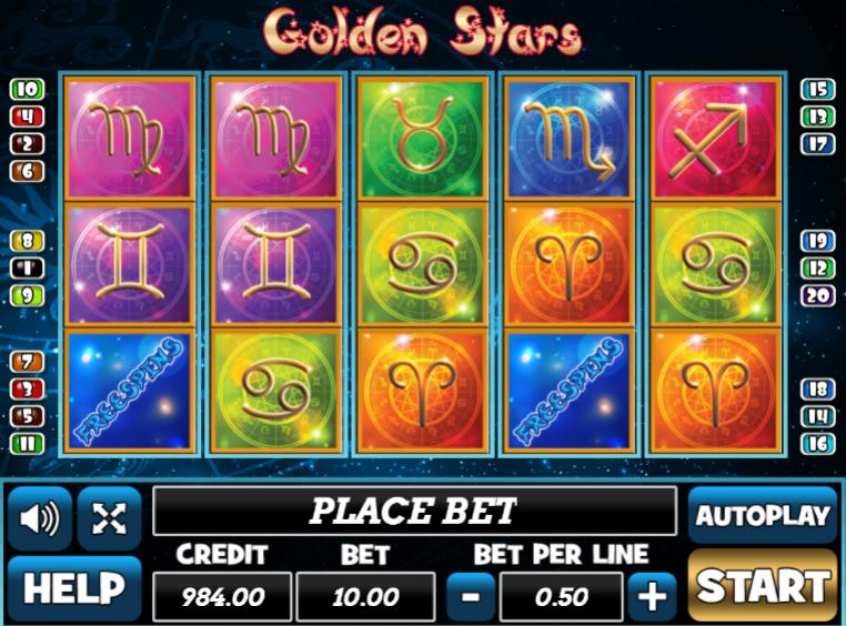 Giochi Slot Golden Stars Online Gratis