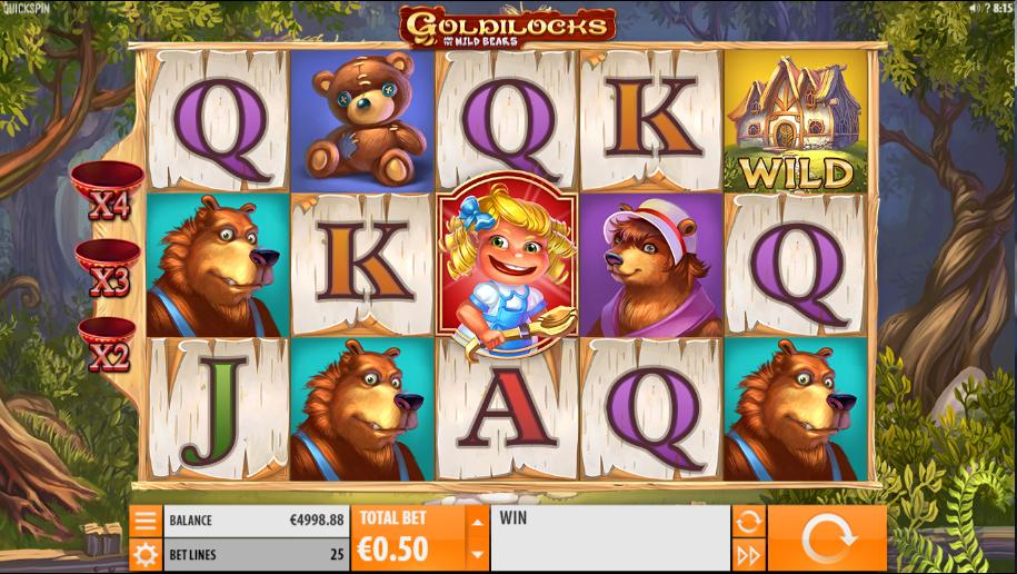 Goldilocks and the Wild Bears QuickSpin