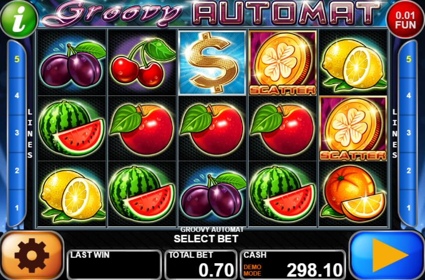 Groovy Automat Giochi Slot Machine Online Gratis