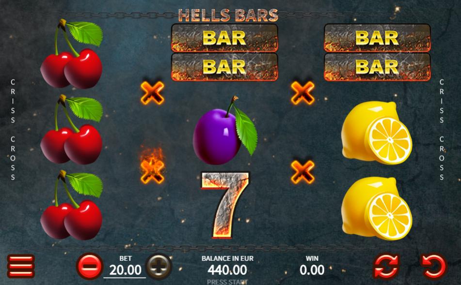 Slot Machine Hells Bars Gratis Online