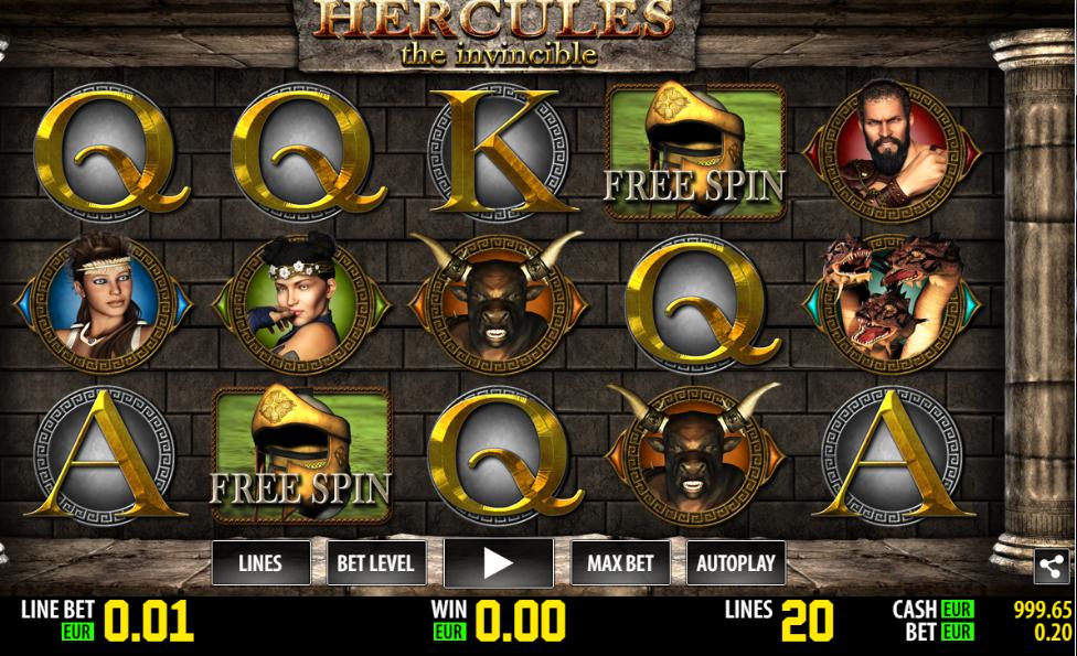 Slot Machine Hercules Gratis Online