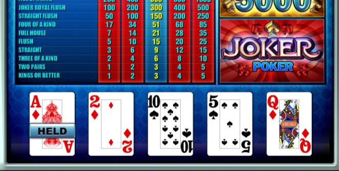 Slot MachineJoker Poker TomHornGratis Online