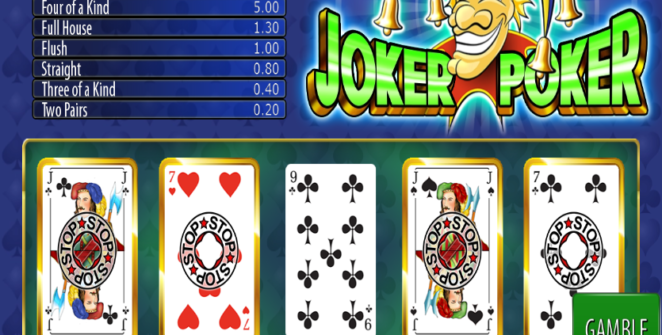 Slot Machine Joker Poker Wazdan Gratis Online