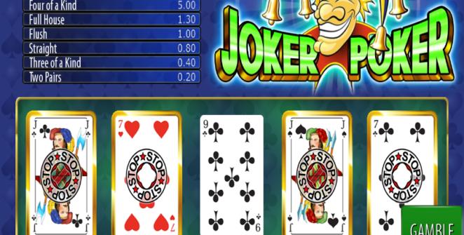 Slot MachineJoker Poker WazdanGratis Online