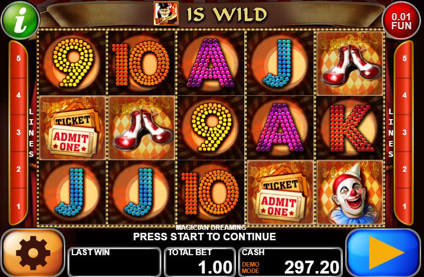 Magician Dreaming Giochi Slot Machine Online Gratis