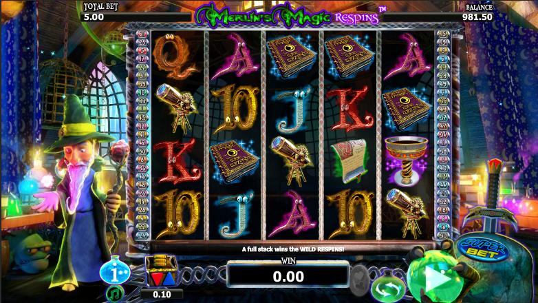Zeus respin slot machine