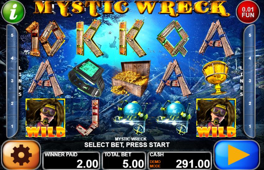 Mystic Wreck Slot Machine Online Gratis