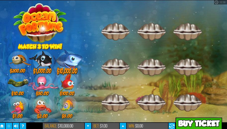 Ocean Fortune PariPlay