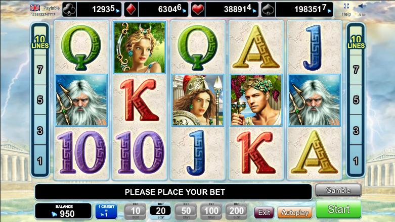 Spiele Olympus Glory - Video Slots Online