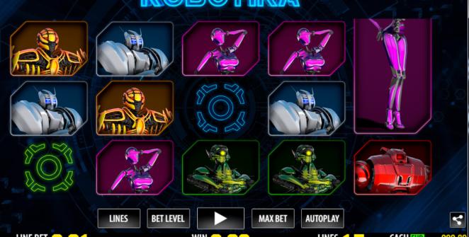 Robotika Giochi Slot Machine Online Gratis
