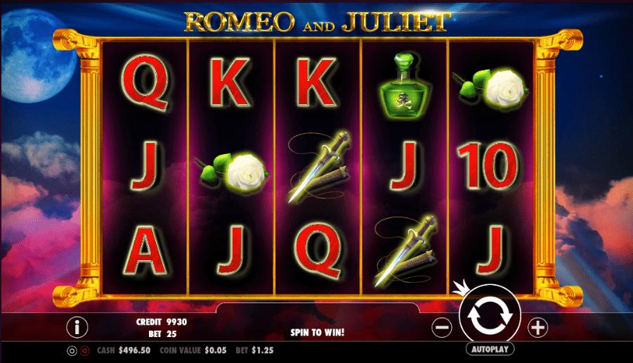 Spiele Romeo And Juliet - Video Slots Online