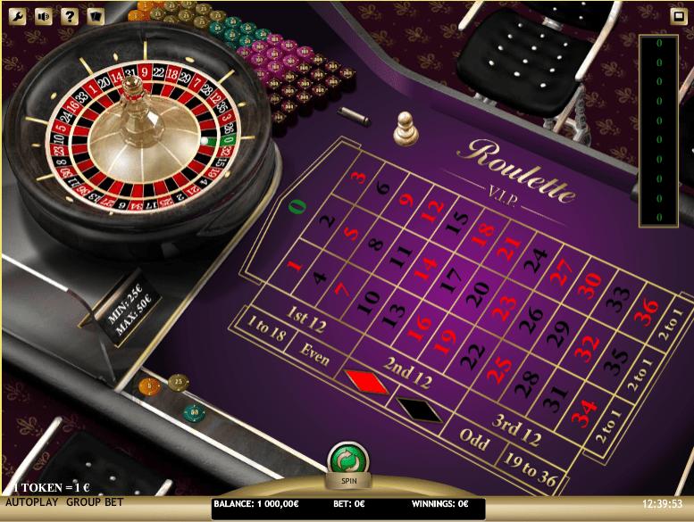 Roulette VIP iSoft