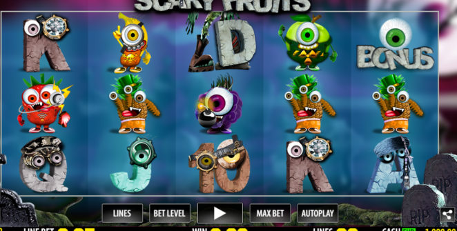 Scary Fruits Slot Machine Online Gratis