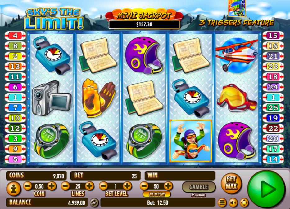 Slot machine grati